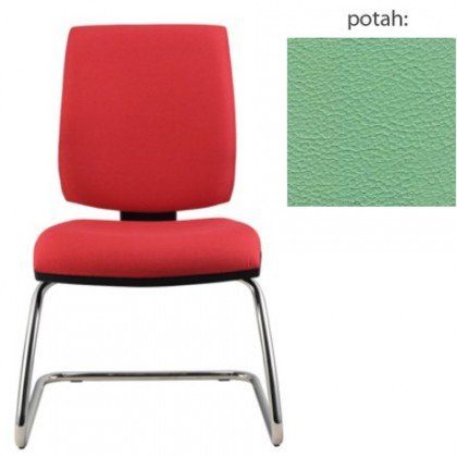 kancelářská židle York prokur chrom(koženka 89)