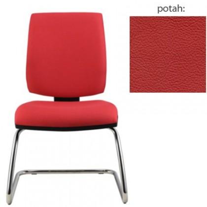 kancelářská židle York prokur chrom(kůže 163)
