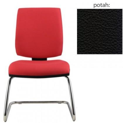 kancelářská židle York prokur chrom(kůže 176)