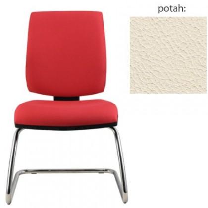 kancelářská židle York prokur chrom(kůže 300)