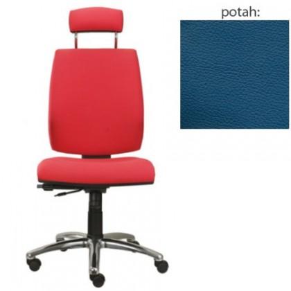 kancelářská židle York šéf AT-synchro(kůže 166)