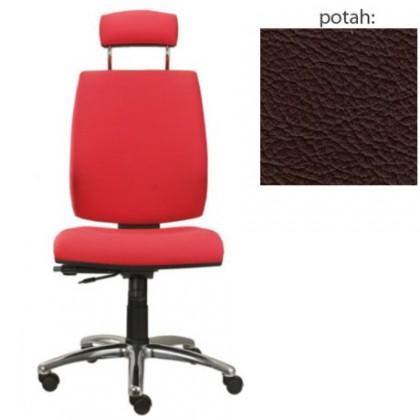 kancelářská židle York šéf AT-synchro(kůže 177)