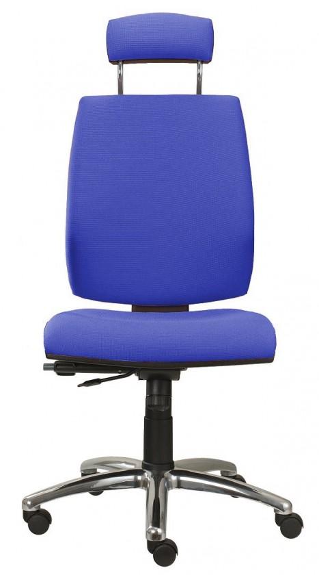 kancelářská židle York šéf T-synchro(suedine 7)