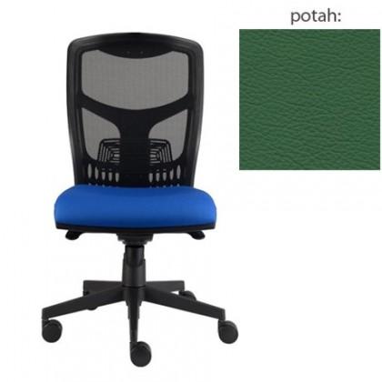 kancelářská židle York síť E-synchro (kůže 161, sk.5)