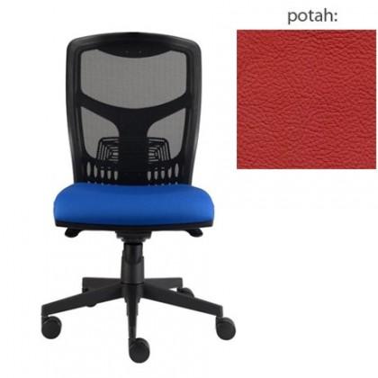 kancelářská židle York síť E-synchro (kůže 163, sk.5)