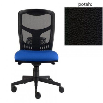 kancelářská židle York síť E-synchro (kůže 176, sk.5)