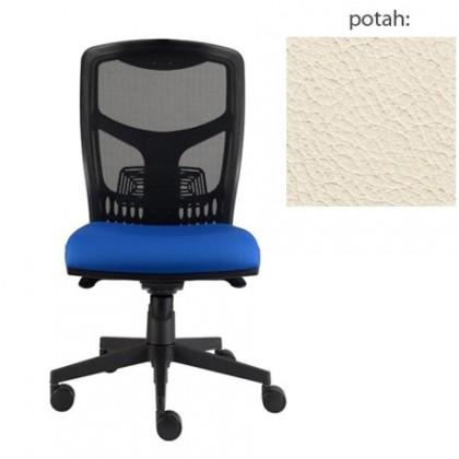 kancelářská židle York síť E-synchro (kůže 300, sk.5)