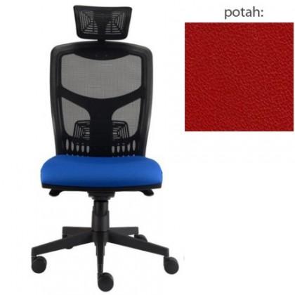kancelářská židle York síť T-synchro (koženka 14, sk.3)