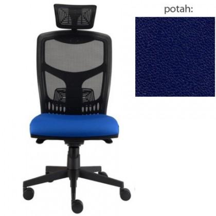 kancelářská židle York síť T-synchro (koženka 68, sk.3)