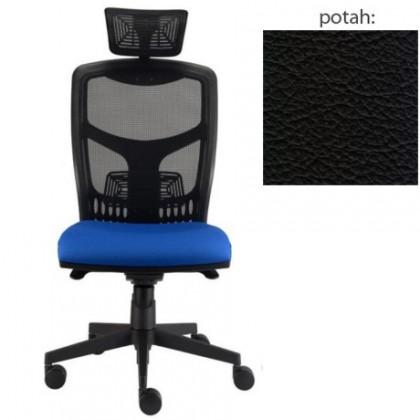 kancelářská židle York síť T-synchro (kůže 176, sk.5)