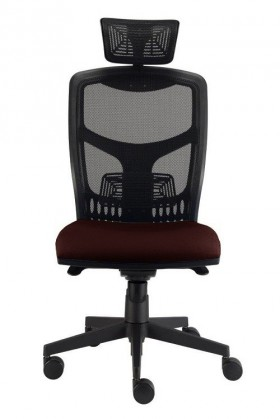 kancelářská židle York síť T-synchro (suedine 21, sk.1)