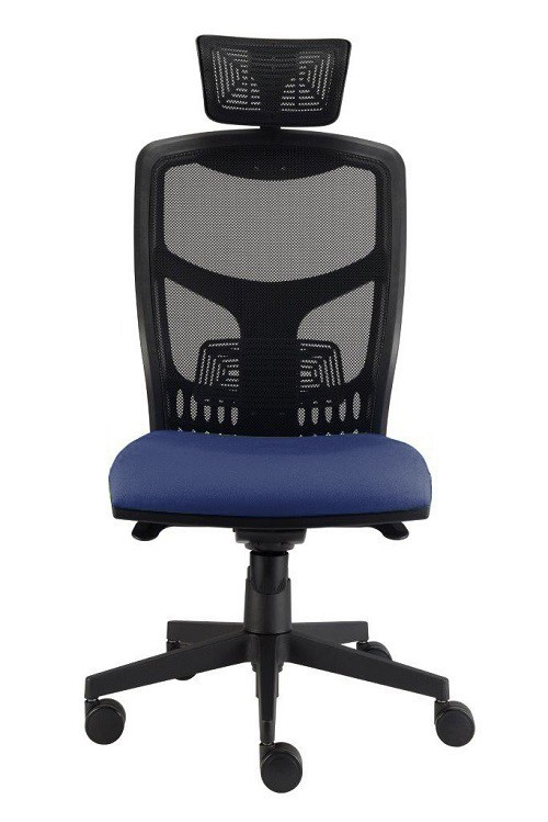 kancelářská židle York síť T-synchro (suedine 9, sk.1)