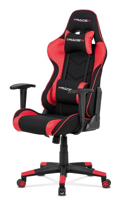 Kancelářské a herní židle Herní židle Crash červená