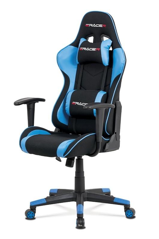 Kancelářské a herní židle Herní židle Crash modrá