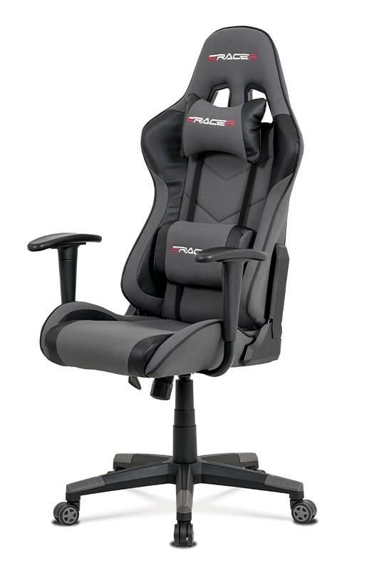 Kancelářské a herní židle Herní židle Crash šedá
