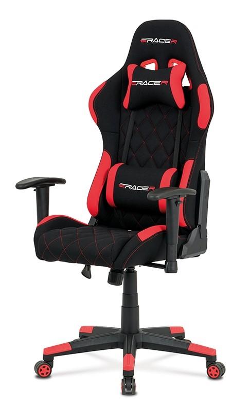 Kancelářské a herní židle Herní židle Powergamer červená