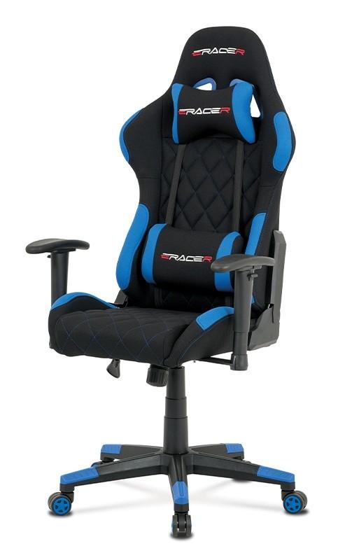 Kancelářské a herní židle Herní židle Powergamer modrá