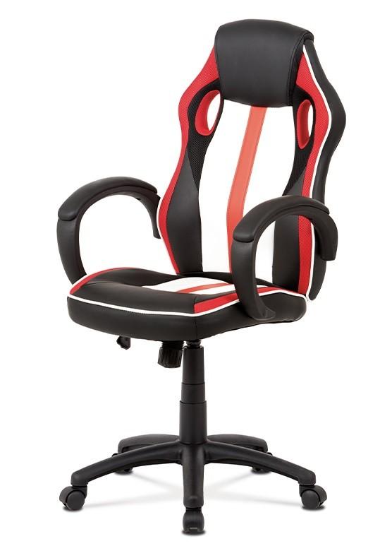 Kancelářské a herní židle Herní židle Quest červená