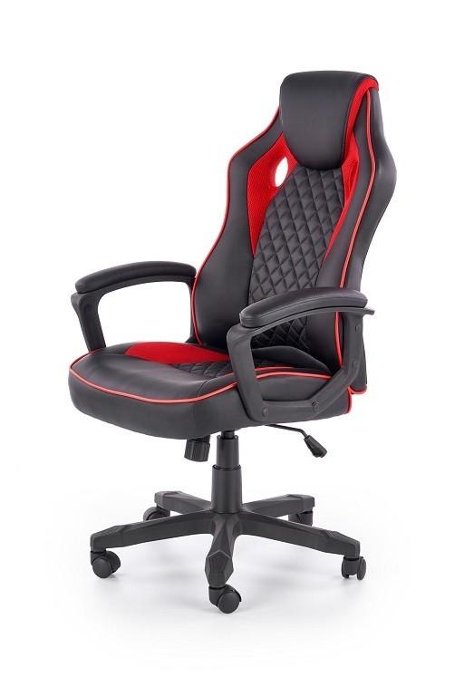 Kancelářské a herní židle Herní židle Thrasher černá, červená