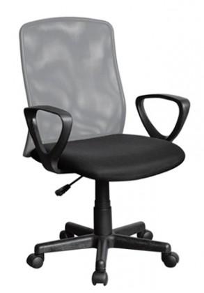 Kancelářské a herní židle Kancelářská židle Alex (černošedá)