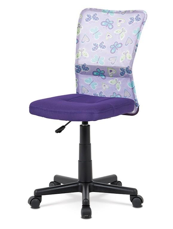 Kancelářské a herní židle Kancelářská židle Alice fialová