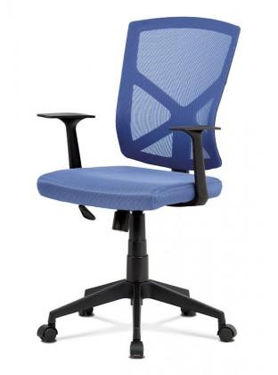 Kancelářské a herní židle Kancelářská židle Clara modrá