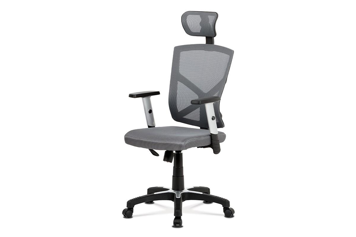Kancelářské a herní židle Kancelářská židle Dalila šedá