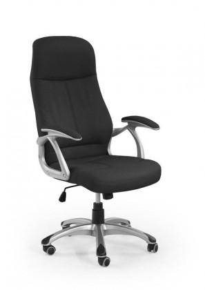 Kancelářské a herní židle Kancelářská židle Edison (černá)