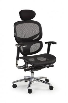 Kancelářské a herní židle Kancelářská židle President (černá)