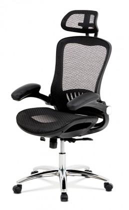 Kancelářské a herní židle Kancelářská židle Renée černá