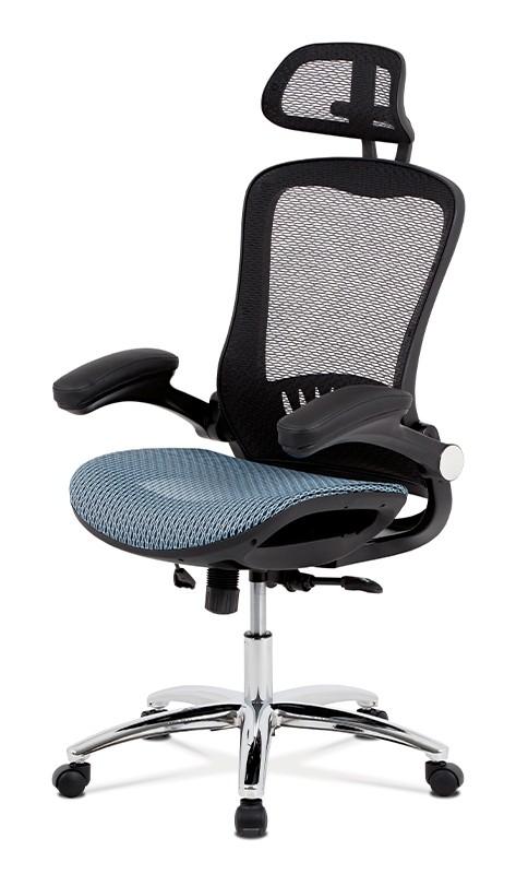 Kancelářské a herní židle Kancelářská židle Renée modrá