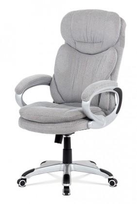 Kancelářské a herní židle Kancelářská židle Rut stříbrná