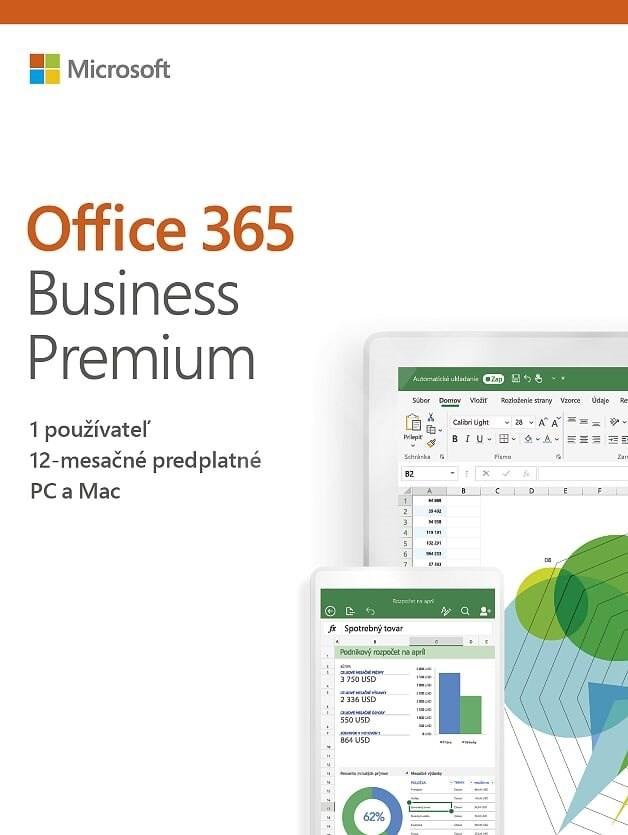 Kancelářské aplikace Office 365 Business Premium, SK