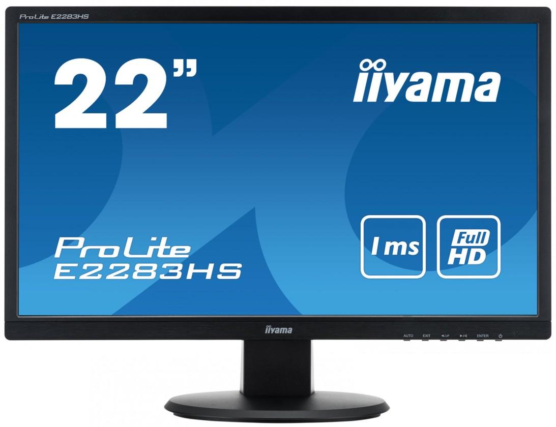 "Kancelářský monitor 22""LCD iiyama E2283HSB1"