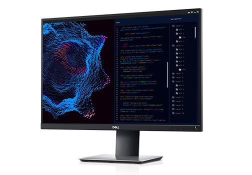 """Kancelářský monitor Monitor DELL P2421 Professional, 24"""", 8 ms, HDMI, VGA, černá"""
