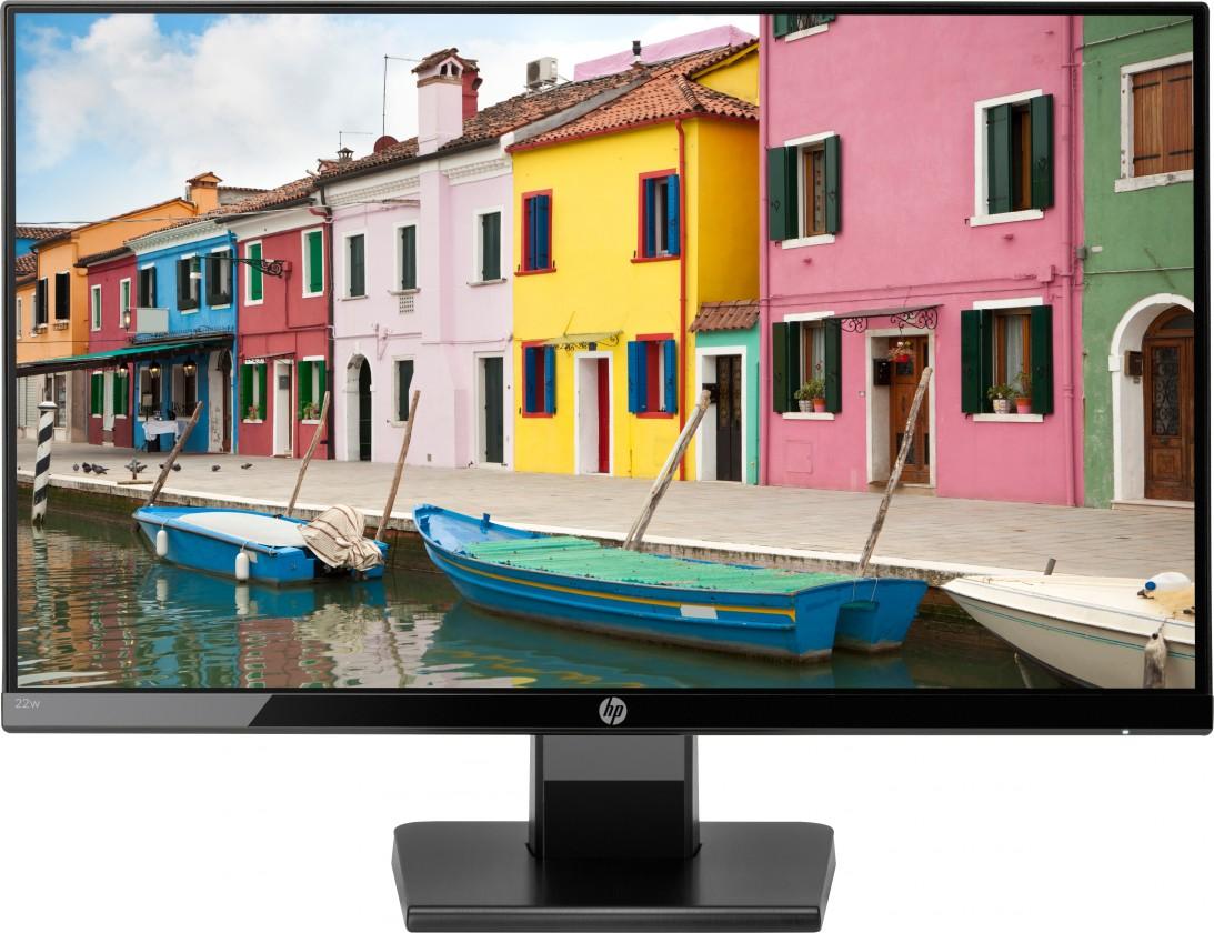 "Kancelářský monitor Monitor HP 22"" Full HD, LCD, LED, IPS, 5 ms, 75 Hz, 22w"