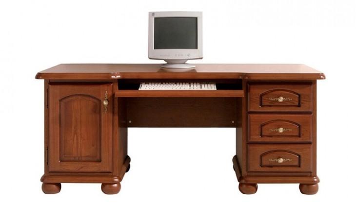 Kancelářský stůl Bawaria DBIU 175 (ořech vlašský)