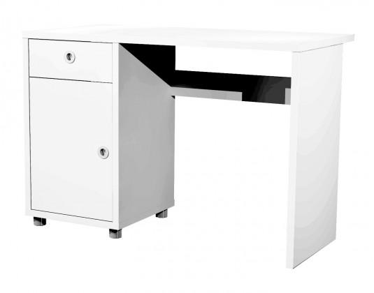 Kancelářský stůl Box - psací stůl (1x dveře, 1x šuplík)