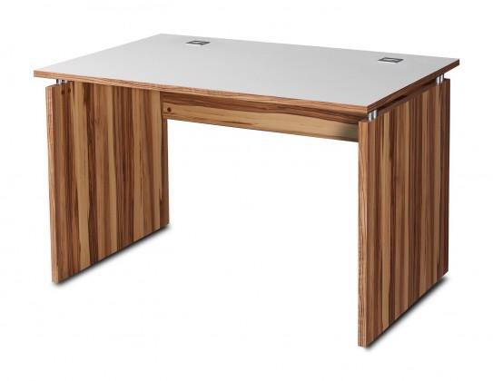 Kancelářský stůl GW-Linea - stůl (baltimorský ořech / bílá)