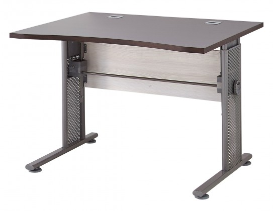Kancelářský stůl GW-Profi - Výškově stavitelný stůl 100x80x80 (modřín/dub havana)