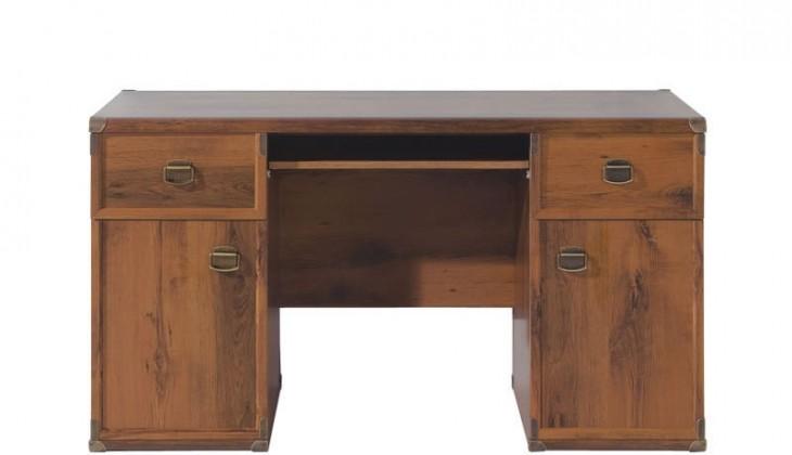 Kancelářský stůl INDIANA JBIU2D2S (Dub sutter)