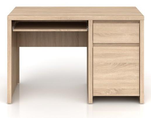 Kancelářský stůl Kaspian BIU1D1S/120 (Dub sonoma)