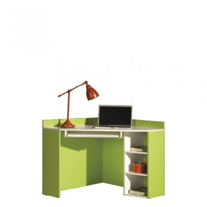 Kancelářský stůl LABYRINT LA 17 (krémová/limetka)