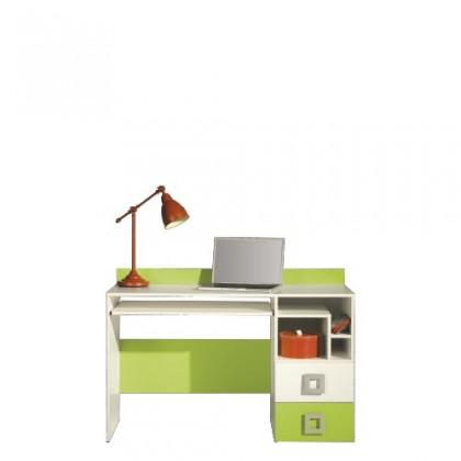 Kancelářský stůl LABYRINT LA 18 (krémová/limetka)