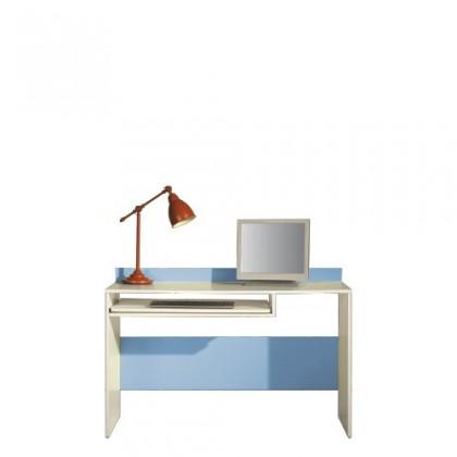 Kancelářský stůl LABYRINT LA 19 (krémová/modrá)