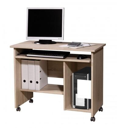 Kancelářský stůl Office - PC stůl (dub sonoma)