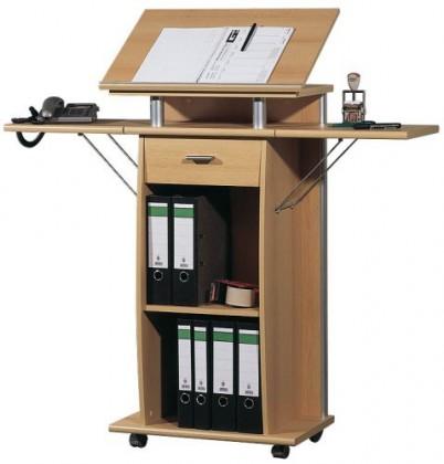 Kancelářský stůl Office - pracovní pult (buk)