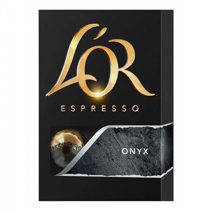 Kapsle, náplně Kapsle L'OR Espresso Onyx, 10ks