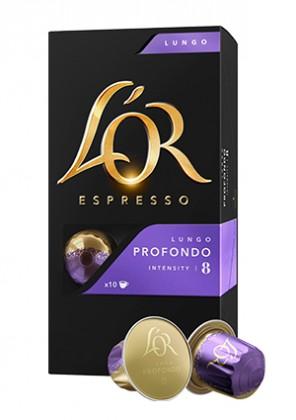 Kapsle, náplně Kapsle L'OR Espresso Profondo, 10ks