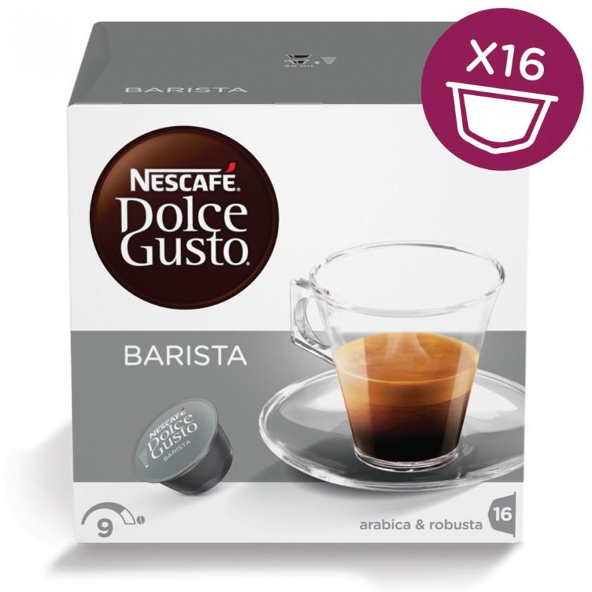 Kapsle, náplně Kapsle Nescafé Dolce Gusto Barista 16ks